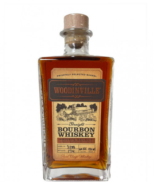 Woodinville Lisa's Private Select Single Barrel Bourbon 750ml