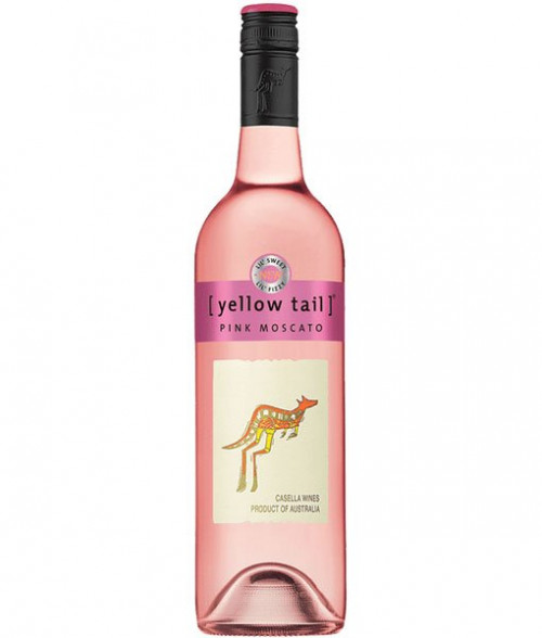 Yellow Tail Pink Moscato 750ml NV
