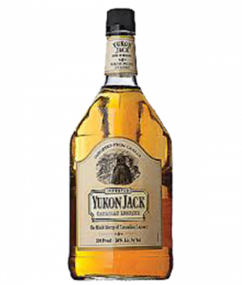 Yukon Jack 100 Proof Canadian Liqueur 1.75L