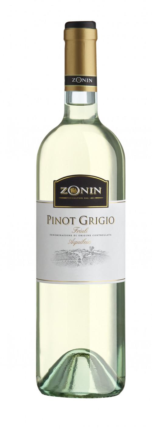 Zonin Pinot Grigio 750ml NV