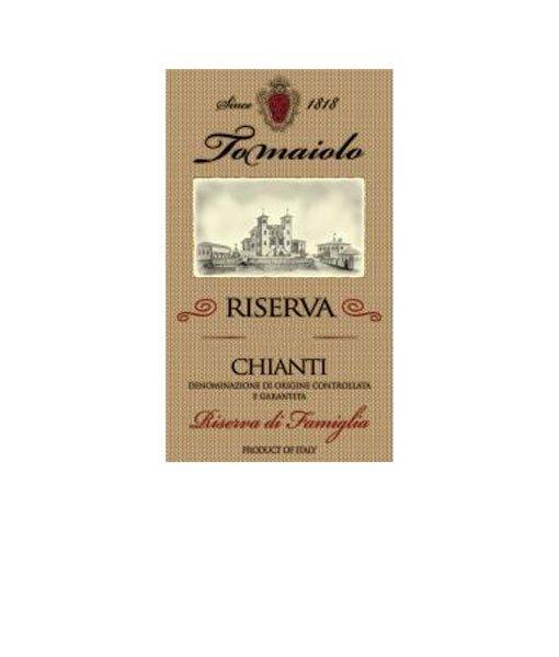 2015 Tomaiolo Riserva Chainti Gold Label Famiglia 750ml