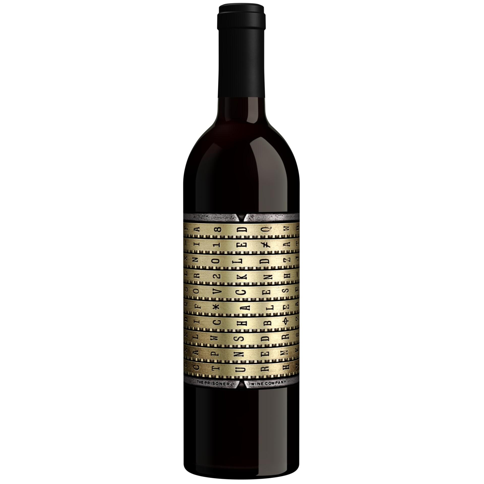2018 Unshackled Red Blend by Prisoner Wine 750Ml