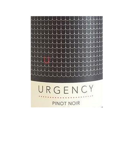 2018 Urgency Pinot Noir 750ml