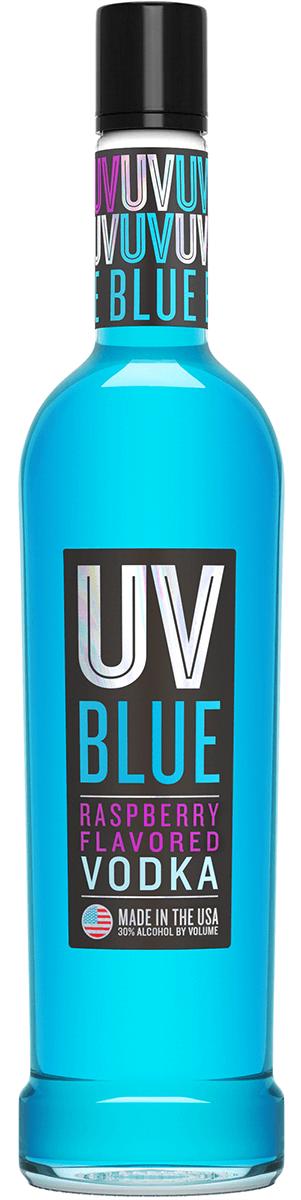 UV Blue Raspberry Vodka 1L