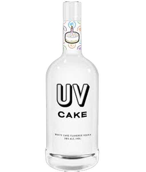 Superb U V Cake Vodka 1 75L Lisas Liquor Barn Personalised Birthday Cards Veneteletsinfo