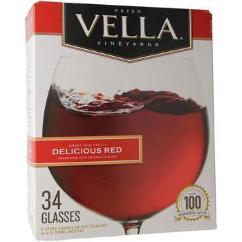 Peter Vella Delicious Red 5L Box