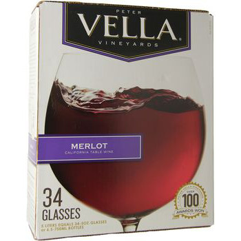 Peter Vella Merlot 5L Box
