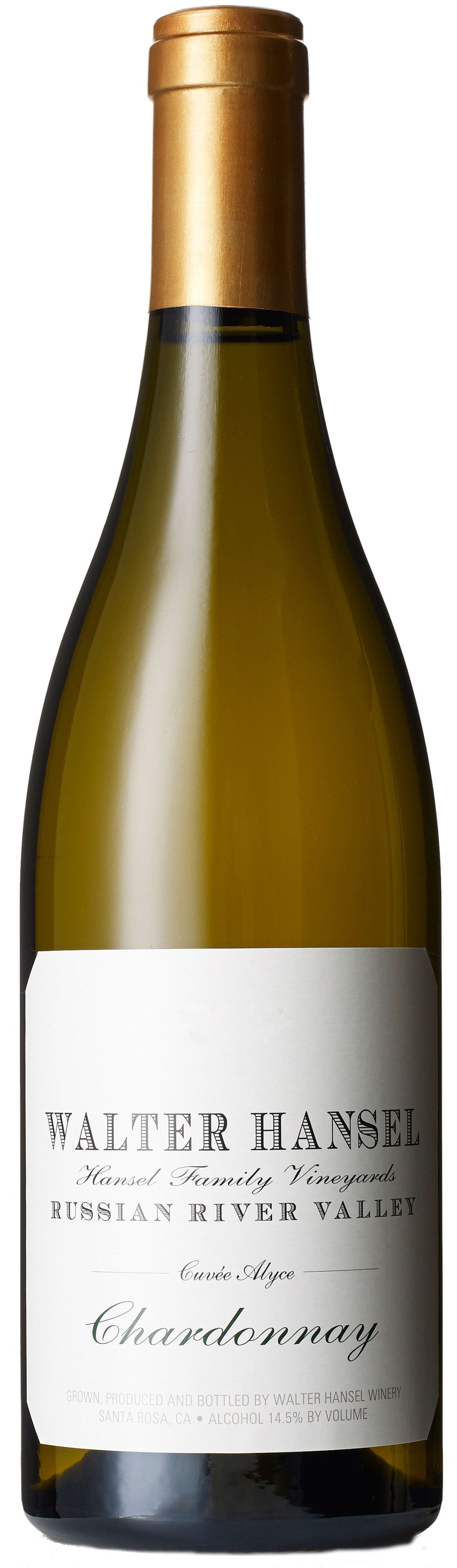 Hansel Cuvee Alyce Chardonnay 750Ml NV