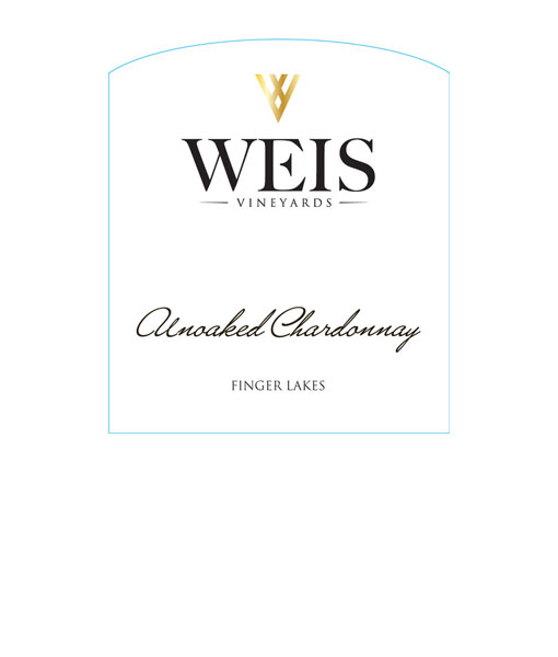 2017 Weis Unoaked Chardonnay 750ml