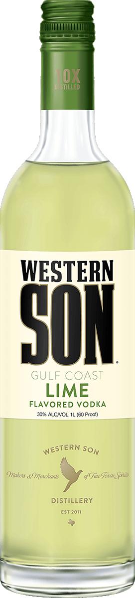 Western Son Lime Vodka 1L