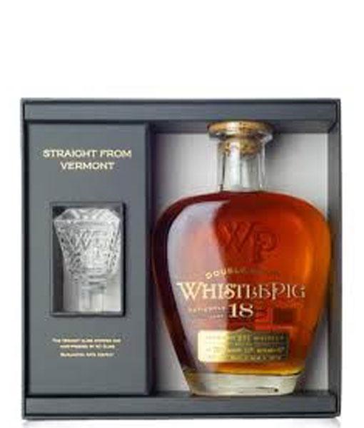 Whistle Pig 18Yr Straight Rye Whiskey 750ml