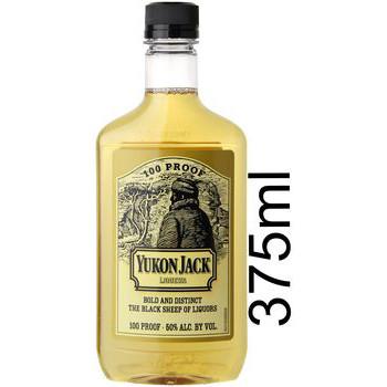 Yukon Jack Canadian Liqueur 100 Proof 375ml