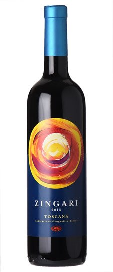 2017 Petra Zingari Toscana Red 750ml