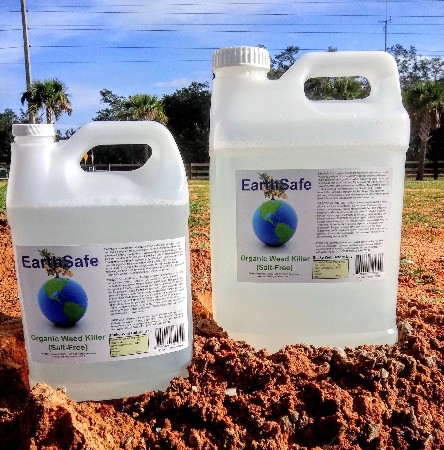 Earth Safe Products, two sizes