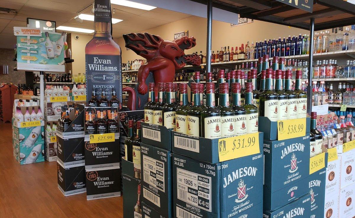 Low Prices on liquor & wine