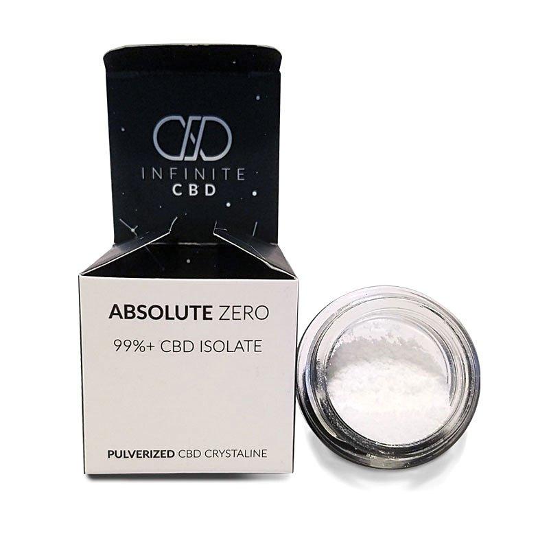 Absolute Zero CBD Isolate Crystalline