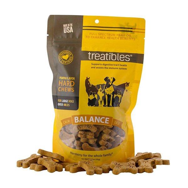 Treatibles Balance (Pumpkin Flavor) Hard Chews - Canine