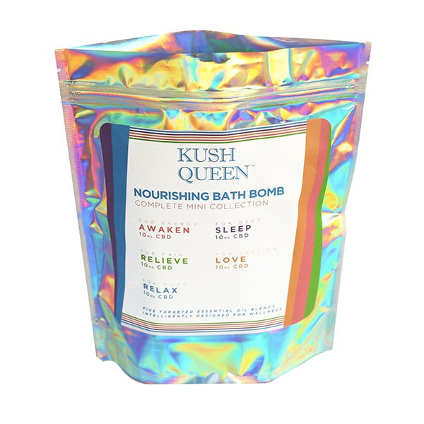 Kush Queen Bath Bomb - Complete Mini Collection