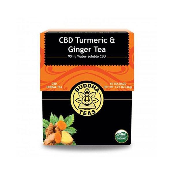 Buddha Teas - Turmeric & Ginger Tea