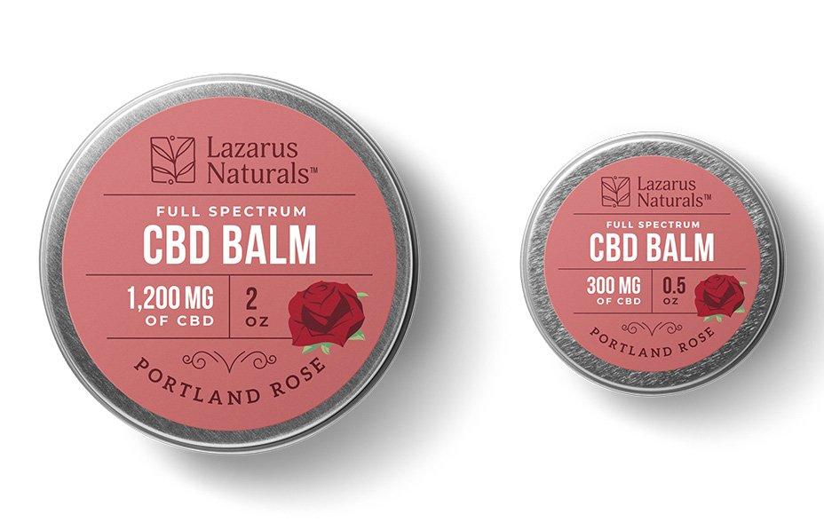 Portland Rose CBD Balm