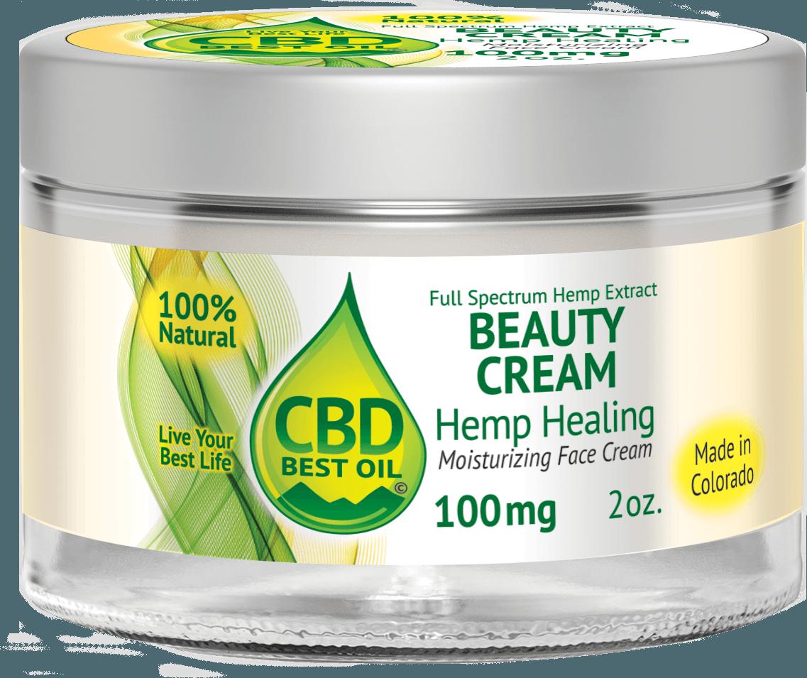 Beauty Moisturizing Face Cream 100 mg