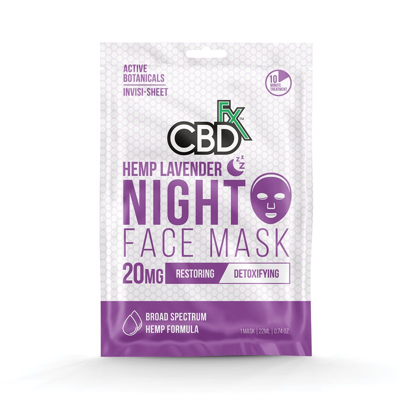 Hemp Mask - Night 20 mg