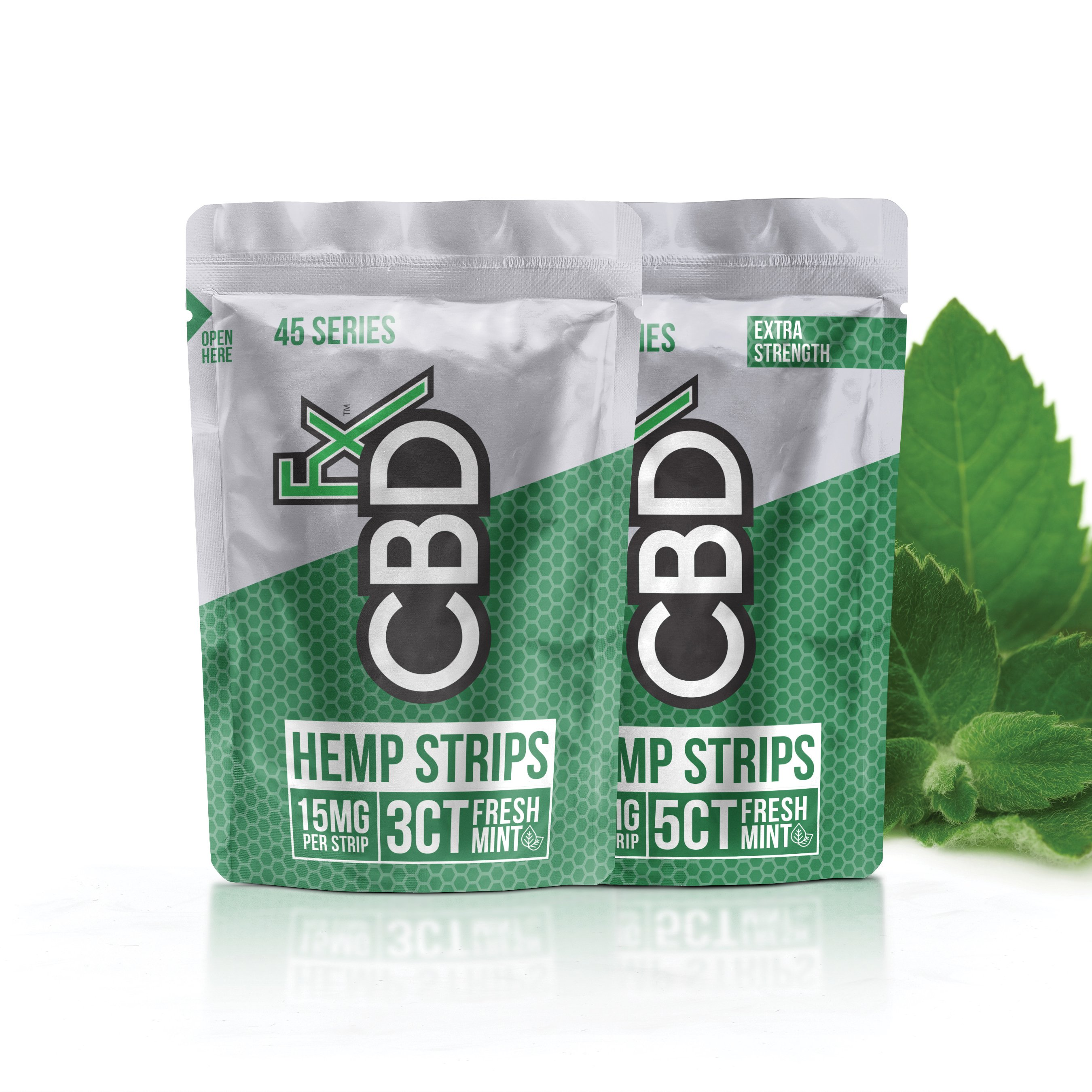 Hemp Strips - Fresh Mint