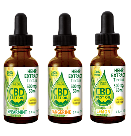 Naturally Flavored 300mg – 2000 mg Tinctures