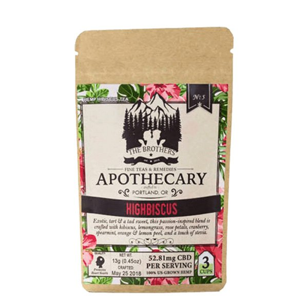 The Brother's Apothecary Tea - Highbiscus
