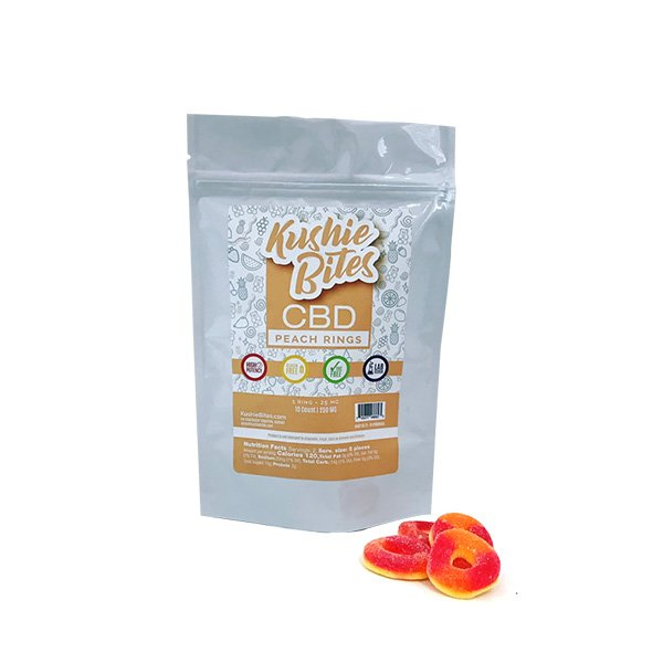 Kushie Bites Peach Rings