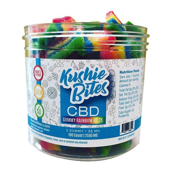 Kushie Bites Rainbow Belts