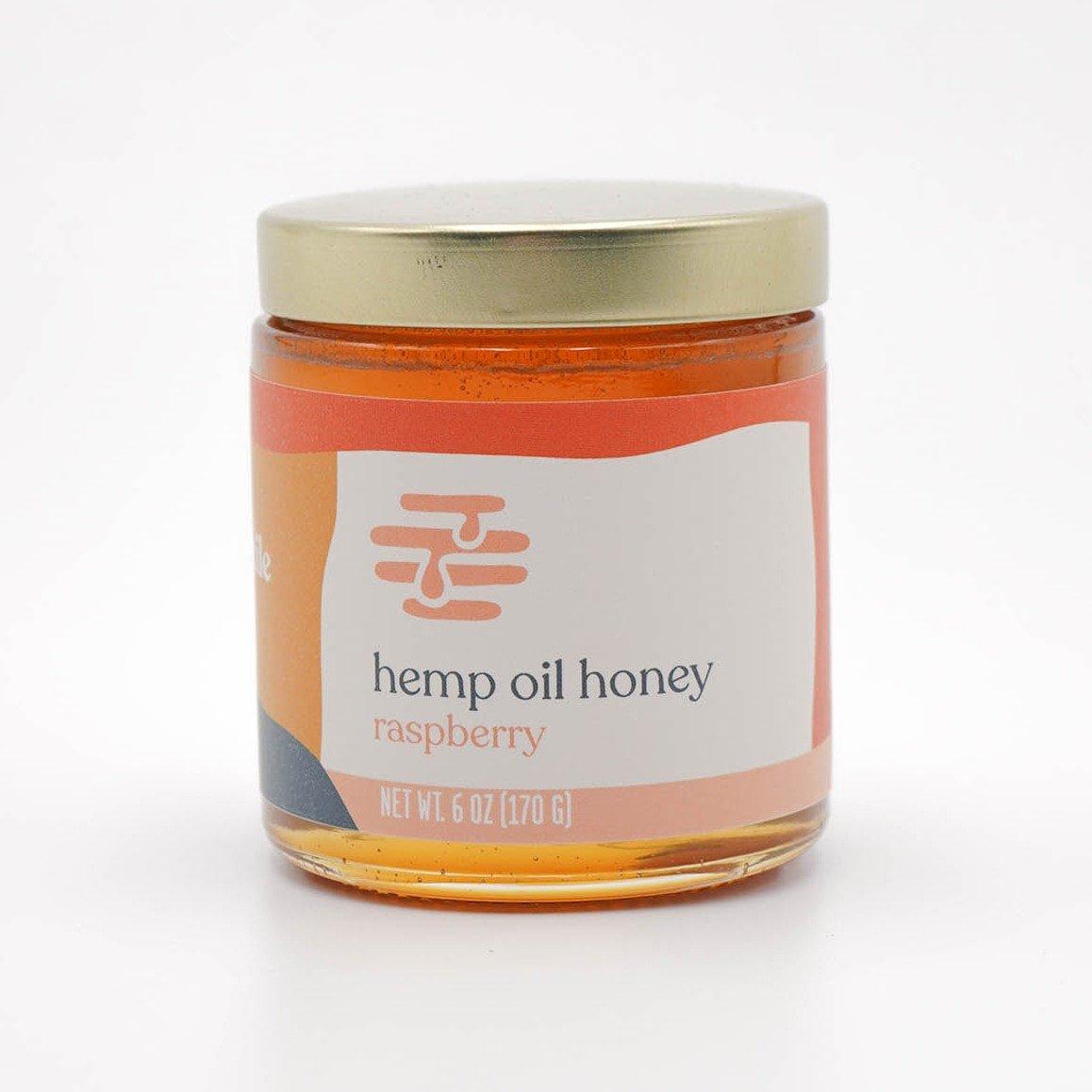 6oz  500mg Full-Spectrum Hemp Honey
