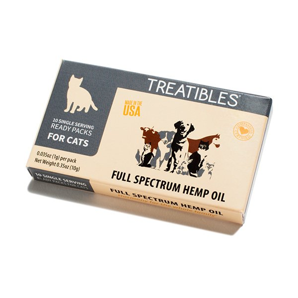 Treatibles Single Serving Oil Ready Pack - Cats