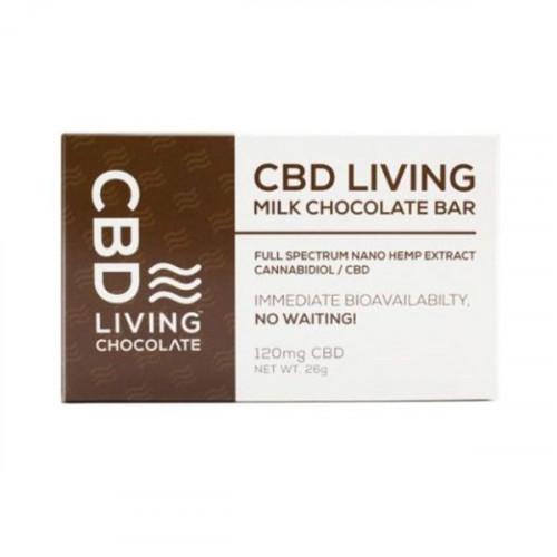 CBD Living 120mg Chocolate Bar