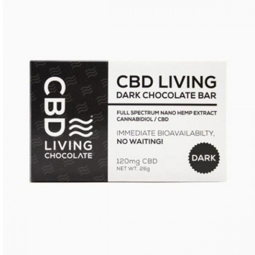 CBD Living 120mg Chocolate Bar