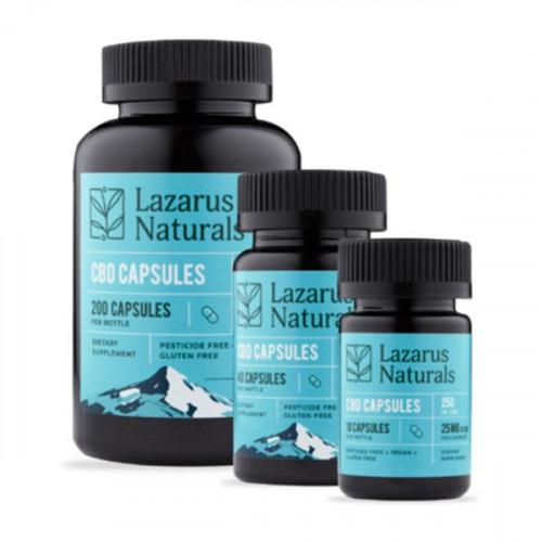 Lazarus Naturals 25mg Capsules