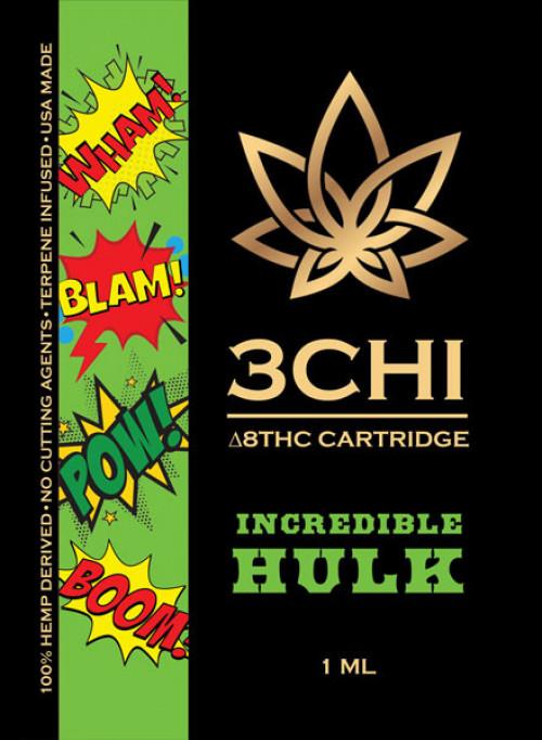 3CHI Delta 8 Vape Cartridge      (32 varieties)
