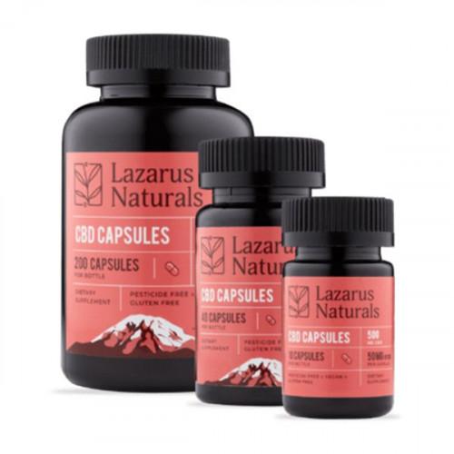 Lazarus Naturals 50mg Capsules