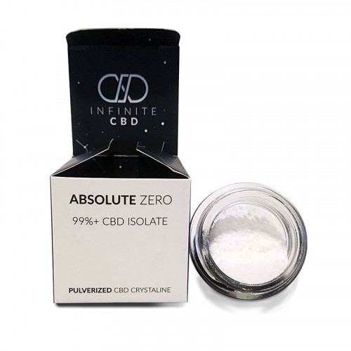 Absolute Zero CBD Isolate Crystalline