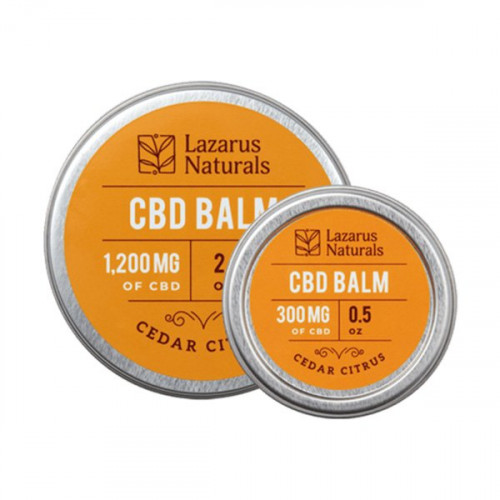 Lazarus Naturals Balm - Cedar Citrus