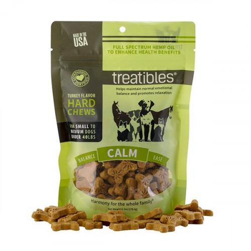 Treatibles Calm (Turkey Flavor) Hard Chews - Canine