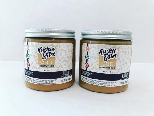 Kushie Bites Peanut Butter