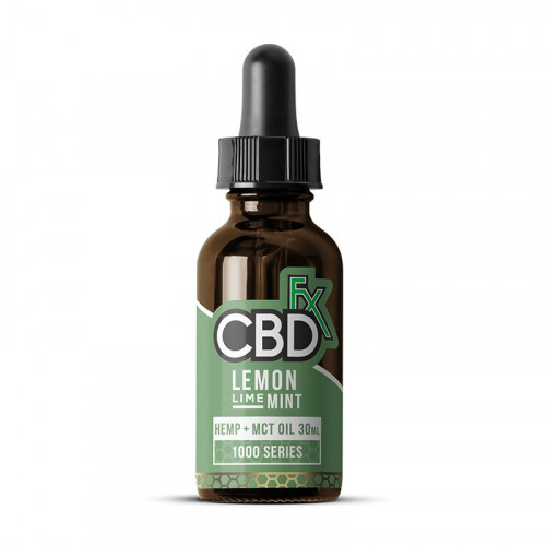 CBD MCT Oil Flavored Tincture