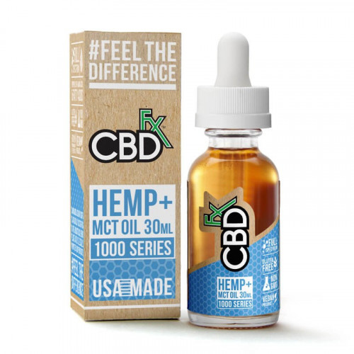 CBD MCT Oil Tincture