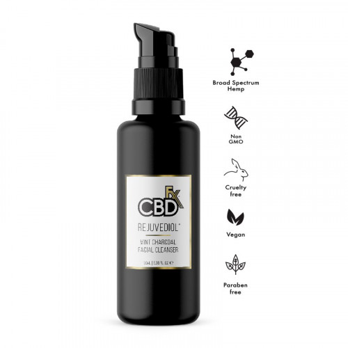 Rejuvediol Charcoal Facial Cleanser 50mg