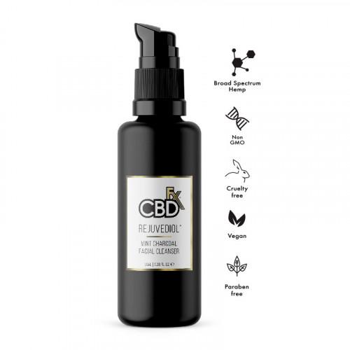 Rejuvediol Charcoal Facial Cleanser 50mg