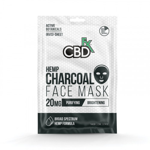 Hemp Mask - Charcoal 20 mg