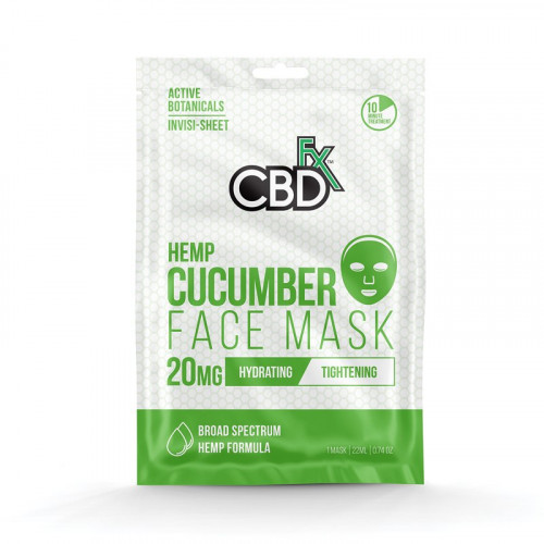 Hemp Mask - Cucumber 20 mg