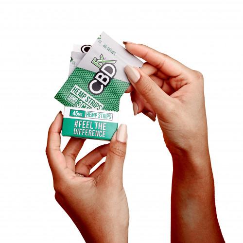 Hemp Strips - Fresh Mint