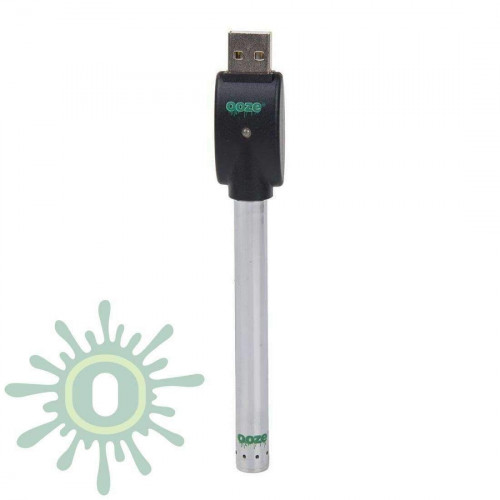Ooze Slim Pen Touchless Battery w/ USB Charger - Chrome
